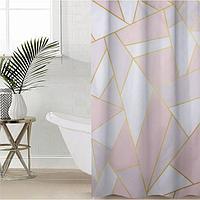 Штора для ванной комнаты «Витраж», 145×180 см, оксфорд