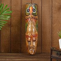 Интерьерный сувенир маска 'Совушка' 50х12х5 см