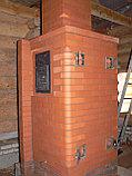 Печь для бани Тройка № 06-ГТ (усиленная) для коммерческих бань (20-40м3). Тверь., фото 2