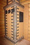 Печь для бани Тройка № 06-ГТ (усиленная) для коммерческих бань (20-40м3). Тверь., фото 5