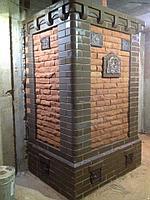 Печь для бани Тройка № 06-ГТ (усиленная) для коммерческих бань (15-30м3). Тверь.