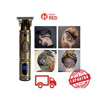 Триммер машинка электробритва для стрижки волос и для бороды и усов беспроводная GW-9748