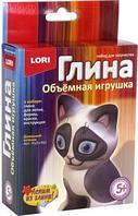 """Игрушка из глины объемная""""Домашний котенок"""""""