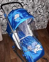 Санки-коляска Nika - Disney Baby 1 Голубой Далматинец
