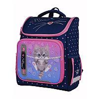 """Ранец Berlingo облегченный Classic """"Meow kitty"""" 37*29*18 см, 1 отд, 4 кармана, анатомическая спинка"""