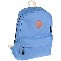 Рюкзак ArtSpace голубой 42*32см,мягкая спинка с отражателями