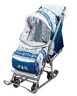 НИКА Cанки-коляска Умка 3-2/10 цвет в ассортименте