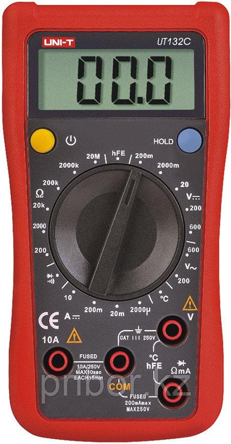 Мультиметр цифровой UNI-T UT132C. Внесён в реестр РК