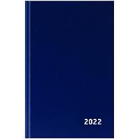 Ежедневник датир. 2022г., A5, 168л., бумвинил, OfficeSpace, синий