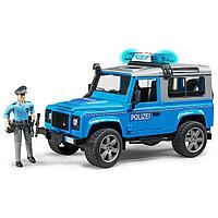 Полицейский внедорожник Land Rover Defender (Bruder, Германия)