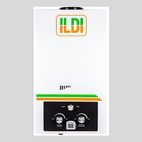 """Газовый водонагреватель 20 """"ILDI"""" 10л на батарейках"""