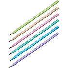 """Карандаш ч/г Berlingo """"Flexy Pastel"""" HB, с ластиком, трехгранный, заточен., пластиковый, ПВХ-бокс, фото 2"""