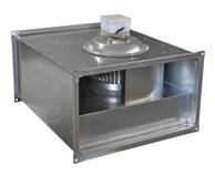 Вентилятор канальный прямоугольный ВКП 50-25-4D