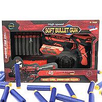№14540 Бластер красный FJ432 c мягкими пулями