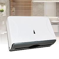 Диспенсер для бумажных полотенец Z укладка из белого пластика