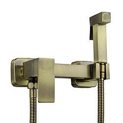 Смеситель GLSAP1-QG3908 с гигиенической лейкой бронзовый