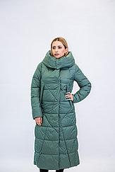 Куртка женская зимняя Evacana зеленая