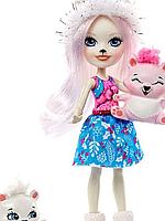 Кукла Enchantimals Пристина Полярный медведь GJX47