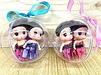 6008D-2  Baby Lovely 2 Принцессы в шаре из 12шт цена за 1шт 10см, фото 1
