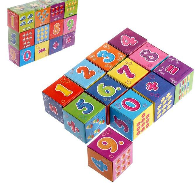 Кубики «Арифметика», 12 элементов…