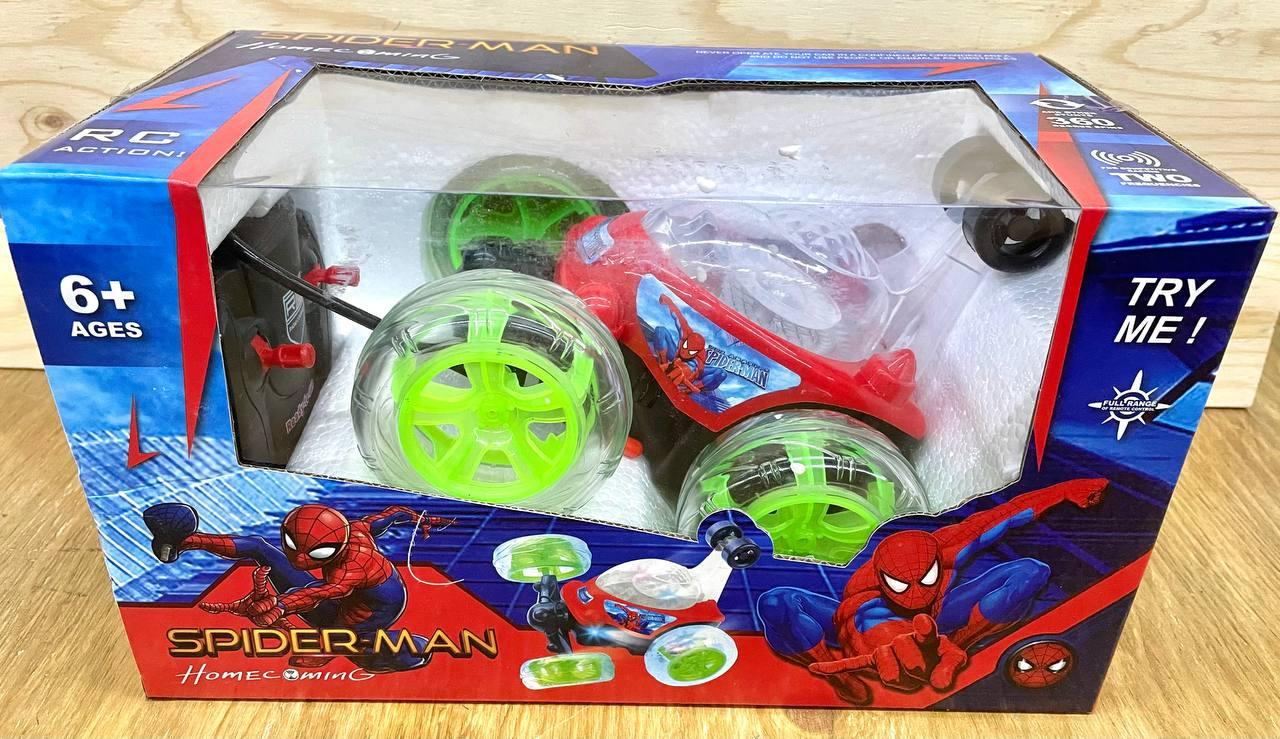 9802M Перевертыш Spiderman на р/у 30*17см
