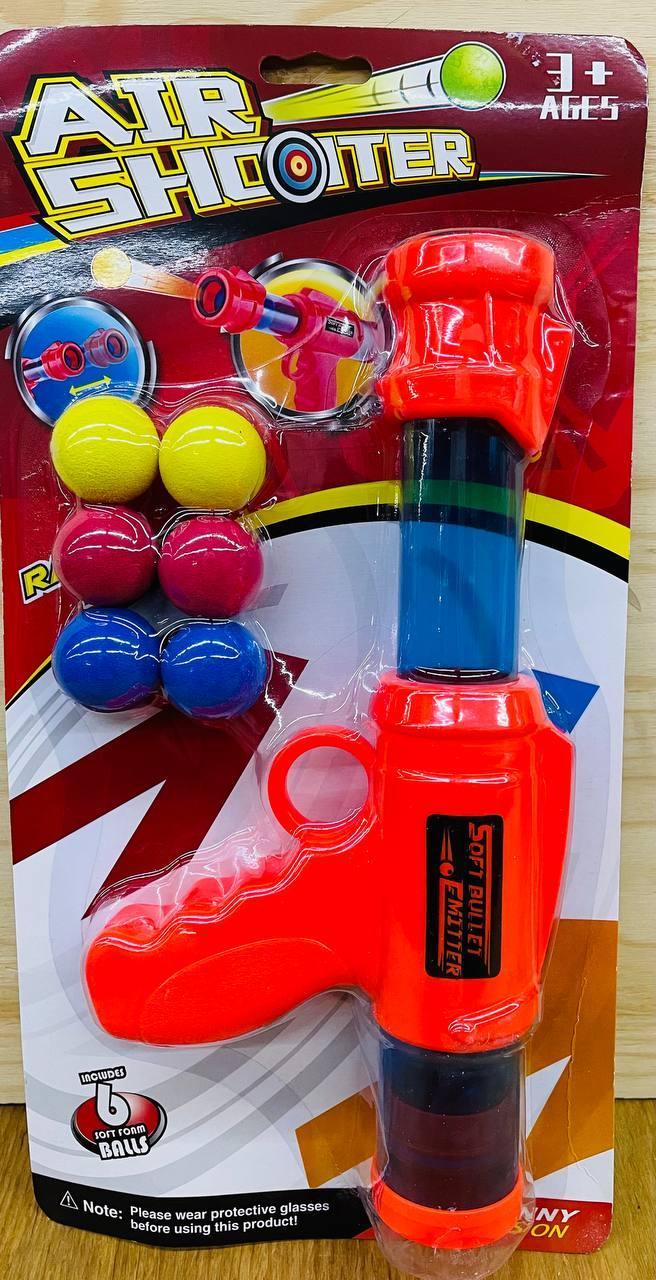 9911 Air Shooter Пинг-понг 6 шаров на картоне 37*19см