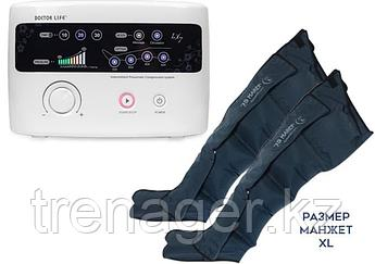 Аппарат для прессотерапии (лимфодренажа) Doctor Life LX7 + манжеты для ног (XL стандартный размер)