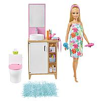 Barbie: Кукла Барби в ванной комнате