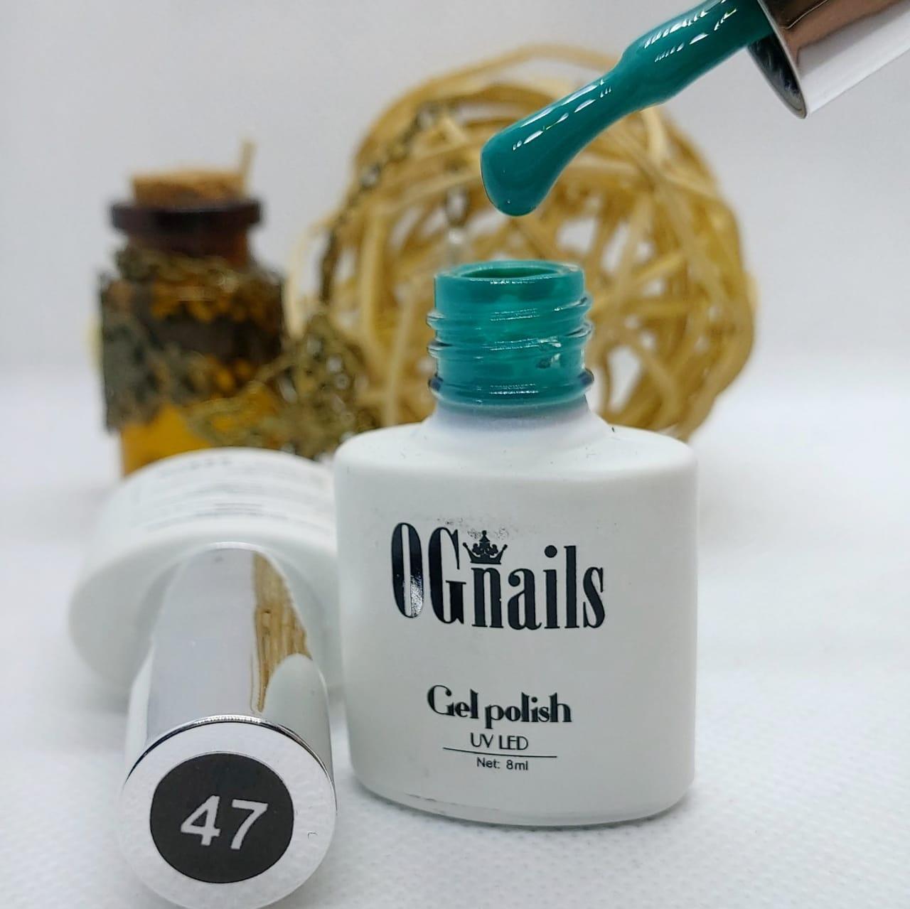 Гель лак White coll № 047, 8мл, OGnails