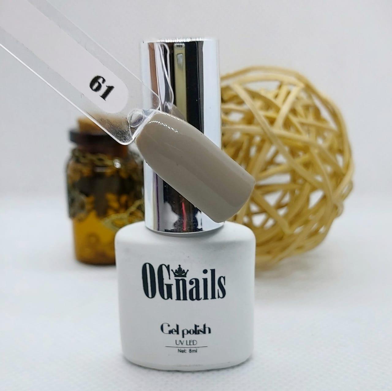 Гель лак White coll № 061, 8мл, OGnails