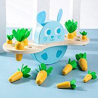 "Игра балансир зайчик с морковками ""Carrot Balance"" 2в1"