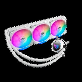 СЖО ASUS ROG STRIX LC 360 RGB WHITE EDITION, AIO, 120mm fan, RGB, BOX