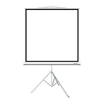 """Экран на треноге Deluxe DLS-T244W (96""""х96""""), ? - 136"""", Раб. поверхность 236х236 см., 1:1"""