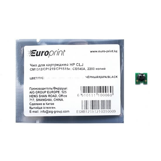 Картридж HP Europe CB540A (CB540A)