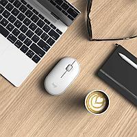 Мышь Logitech беспроводная Pebble M350 Off-White
