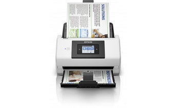 Сканер Epson WorkForce DS-780N B11B227401, A4, Скорость – 45 стр./мин/ 90 изобр./мин, USB 3.0, Ethernet