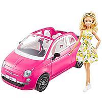 Barbie: Кукла Барби в машине Фиат