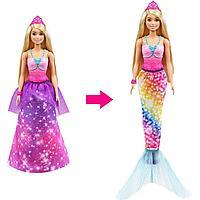 Barbie: Кукла Барби Дримтопия 2-в-1: Принцесса-Русалка
