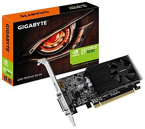 Видеокарта Gigabyte GeForce GT 1030 2Gb GDDR4 64bit. Low profile