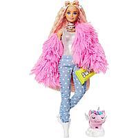 Barbie: Кукла Барби Extra в розовой куртке