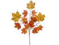 Веточка листьев осенняя декоративная