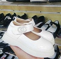 Туфли белые 27-31 для девочек