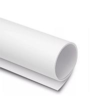 Фон пластиковый (белый 1.5х2 метра)
