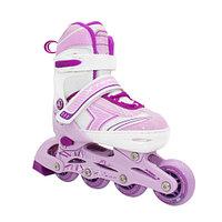 Раздвижные роликовые коньки Alpha Caprice X-Team violet р-р XS (27-30)