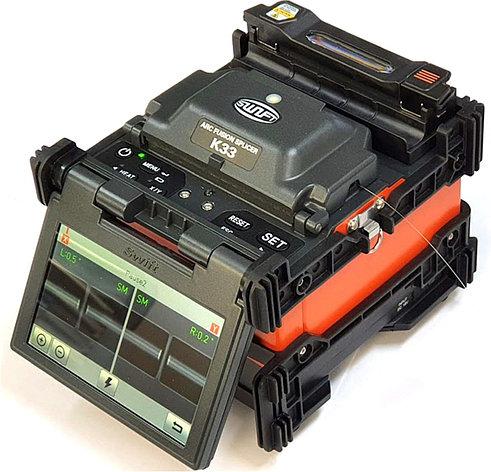 Сварочный аппарат для ВОЛС с выравниванием по сердц., ILSINTECH SWIFT K33 (2 года гарантии, Ю.Корея), фото 2