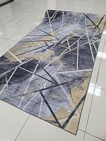 Коврик рулоном, современный принт, ширина 1 метр