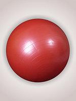 Мяч гимнастический для фитнеса с АВС 65 сантиметров в коробке с насосом L 0765b, красный