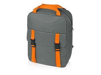 Рюкзак Lock, серый/оранжевый