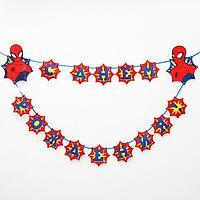Гирлянда 'С Днем Рождения!', Человек-паук