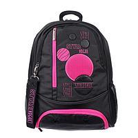 Рюкзак школьный, Hatber, Sreet, 42 х 29 х 12 см, эргономичная спинка, отделение для ноутбука, «Cтиль VOGUE»